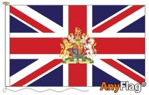 UNION JACK CREST ANYFLAG RANGE - VARIOUS SIZES